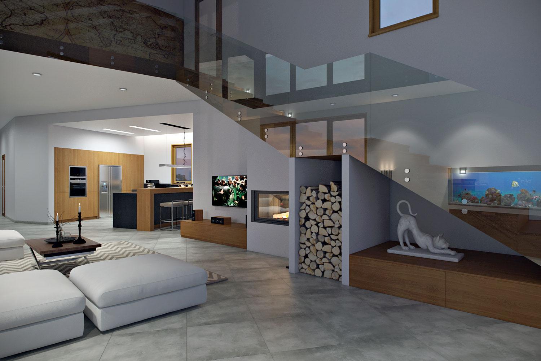 Living-room-glass-railling