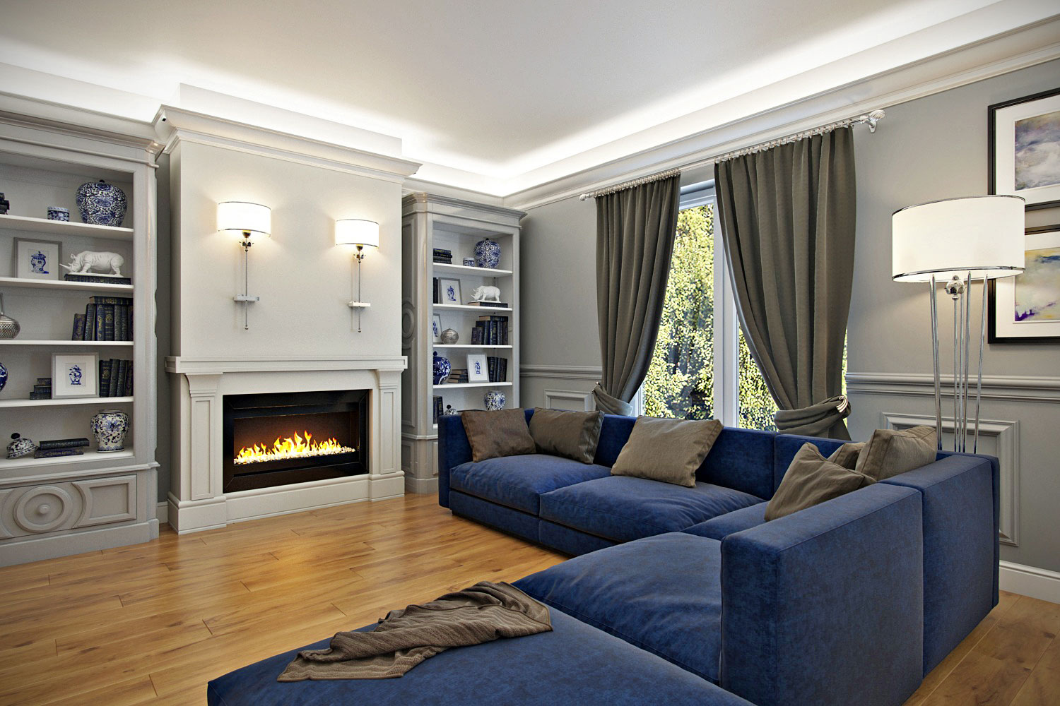 Living-room-with-chimney-