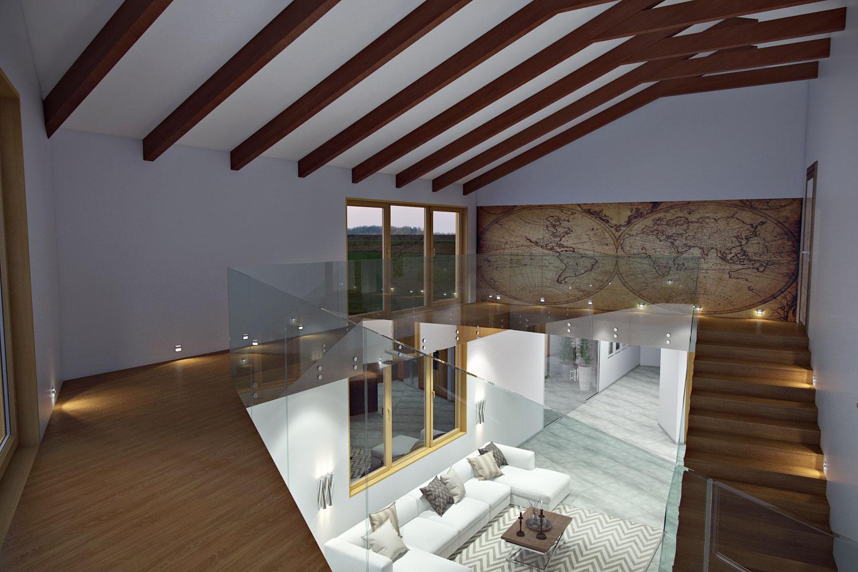 Living-room-wood-beams